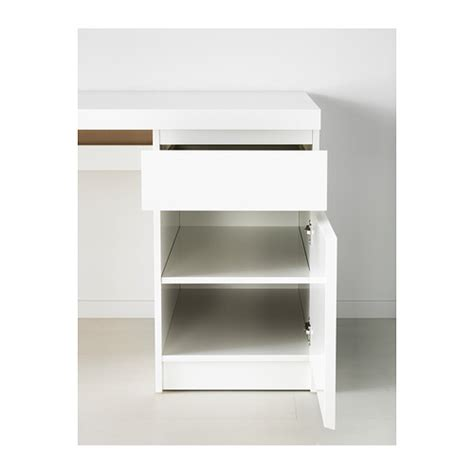 malm white desk ikea malm desk can be placed in the middle of a room