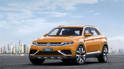 Volkswagen Crossblue by Volkswagen Reveals Crossblue Coupe Concept Drive News