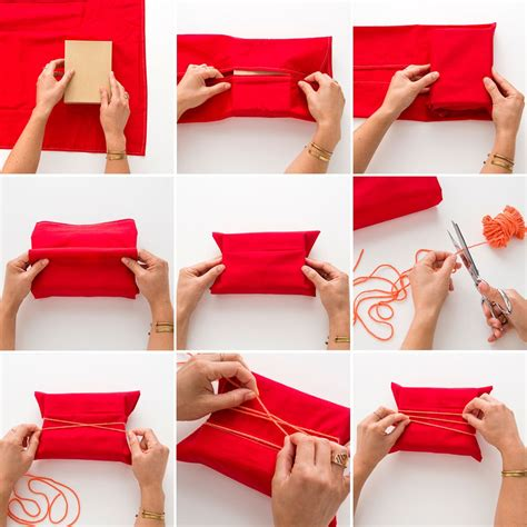this might be the best two in one gift wrap hack
