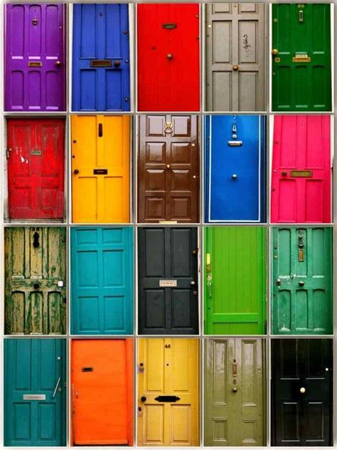 colourful doors of dublin oh the places i will go