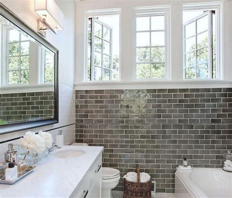 subway tile bathroom ideas subway tiles in bathroom studio design gallery