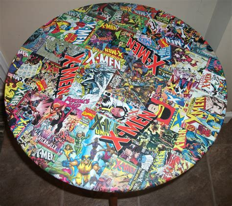 decoupage comics comic decoupage table by kracalactaka artist show