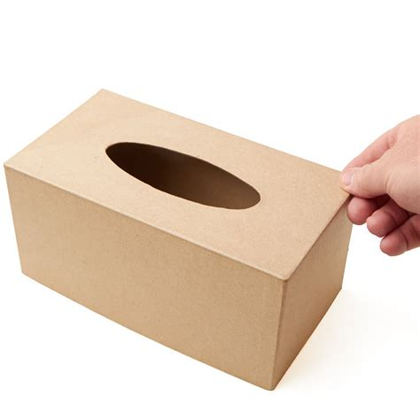 paper mache craft supplies paper mache tissue box cover paper mache basic craft