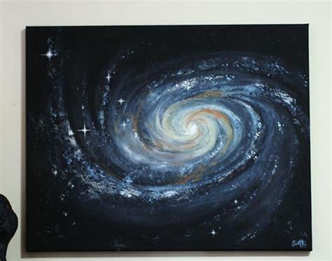 acrylic painting a galaxy the world s catalog of ideas
