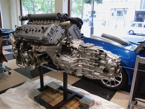 Bugati Engine by Bugatti Veyron W16 Engine And Gearbox At Hr Owen