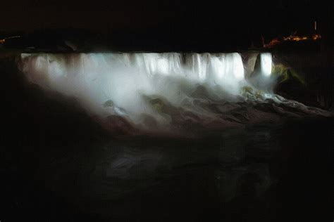paint nite niagara niagara falls by painting by ayse deniz