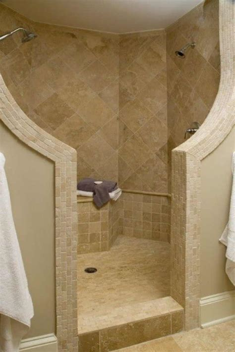 walk in shower no door compact and accessible bathroom ideas with walk in showers
