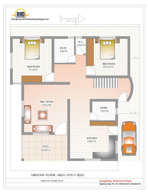 duplex house floor plans duplex house plan and elevation 2878 sq ft home