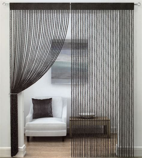 string curtains buy twist string curtain at www shawsdirect