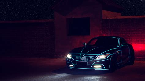 Car Lights Wallpaper by Bmw Z4 Lights Hd Cars 4k Wallpapers Images Backgrounds