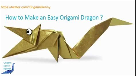 how do i make origami how to make an easy origami kenny nguyen