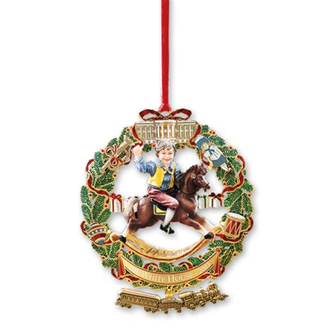 for ornaments 2003 white house ornament a child s rocking