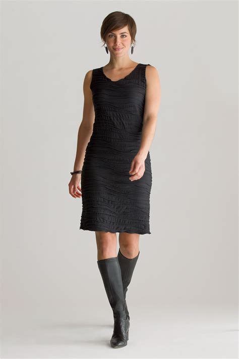 knit dress fiore basic tank dress by carol turner knit dress