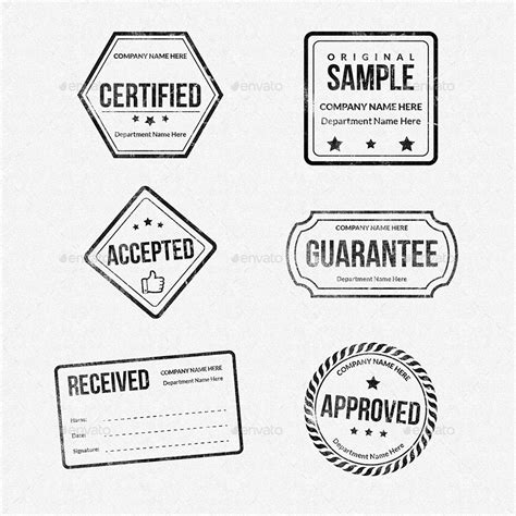 company rubber st template rubber sts designs collection by owpictures graphicriver