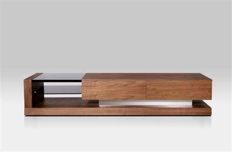 modern tv stand furniture modrest mali modern walnut tv stand