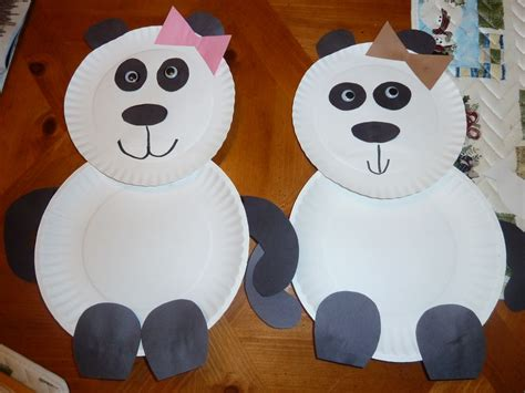 panda crafts for 1 4 cup water