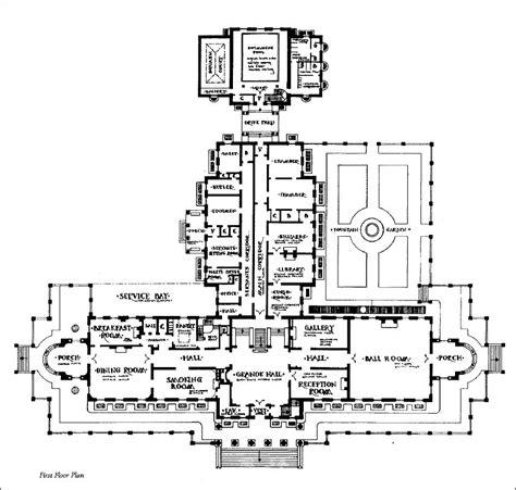 mansion floorplans mansion floor plans