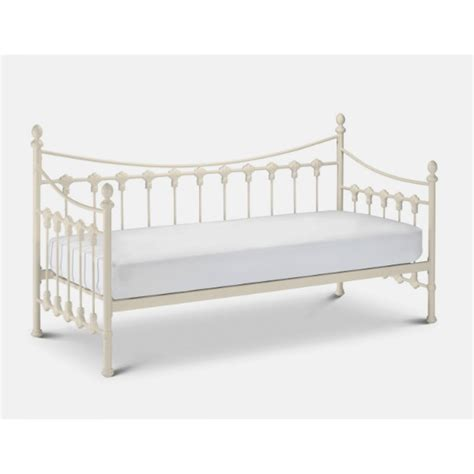 white metal trundle bed frame versailles 3ft single white metal daybed bed