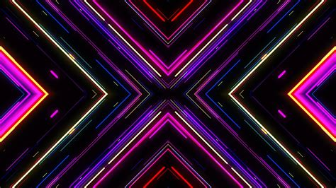 light graphics motion graphic background vj neon lights tunnel footage