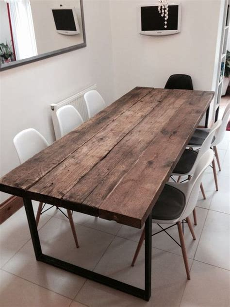 superior metal and woodwork 25 best ideas about industrial table on