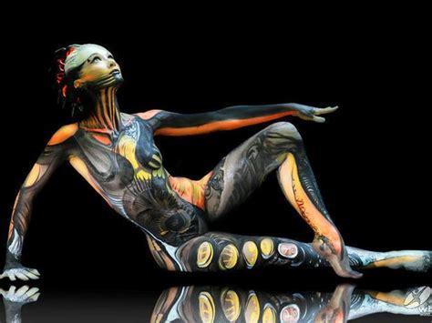 festival mundial de bodypainting en poertschach travel report festival mundial de bodypainting una