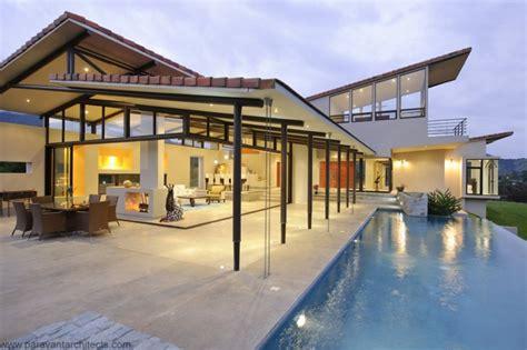 luxury resort style home in costa rica modern house designs