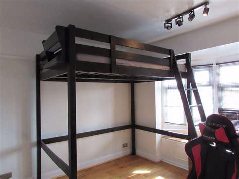 ikea loft bed ikea stora loft bed and mattress high sleeper in