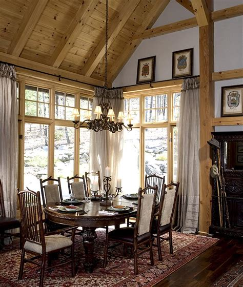 framed for dining room timber framed dining rooms by mill creek