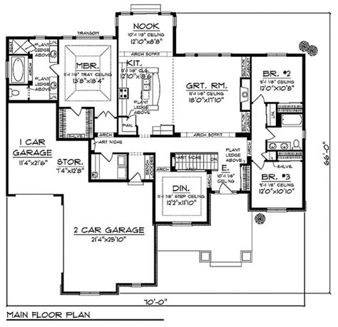 craftsman style house floor plans craftsman style house plans one story inspirational baby nursery open floor home 1400 square