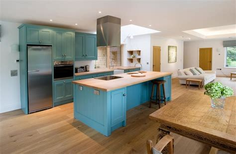kitchen design cornwall cornish blue kitchen coastal kitchen cornwall by