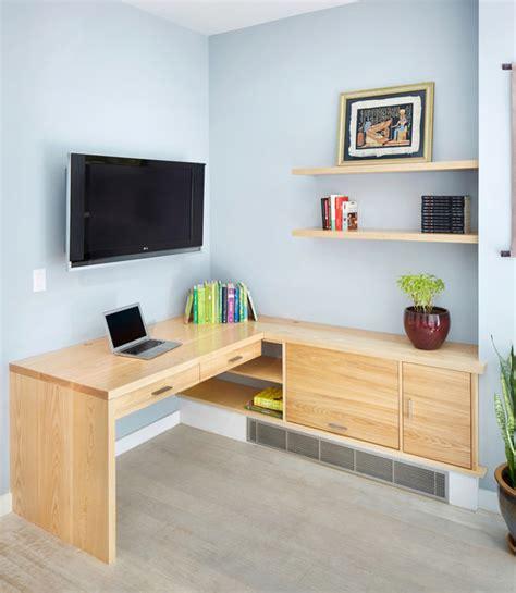 modern built in desk custom built in desk modern home office new york