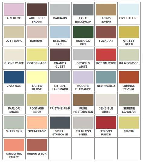 deco color palette deco paint colors yearbook board