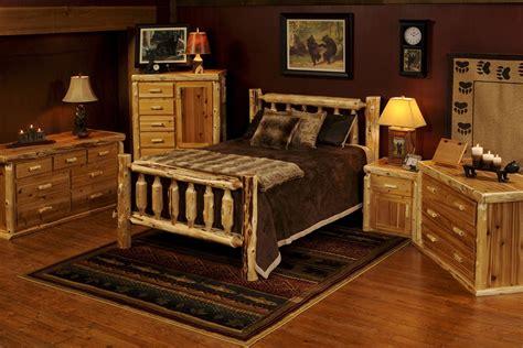 log bed set rustic cedar log bed minnesota log furniture rustic
