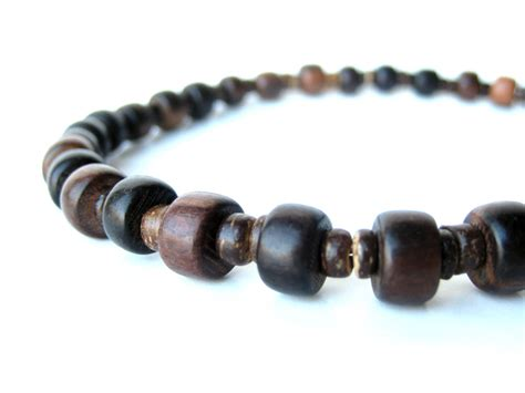Wooden Stutter Necklace For Outdoorsy Authentic Arts