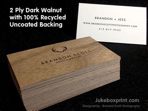 woodworking business name ideas wooden business cards printed wood that looks