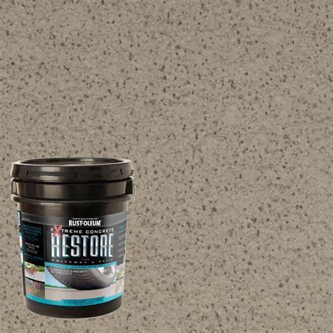 home depot driveway paint colors rust oleum okon 5 gal s 40 water repellent sealer ok640