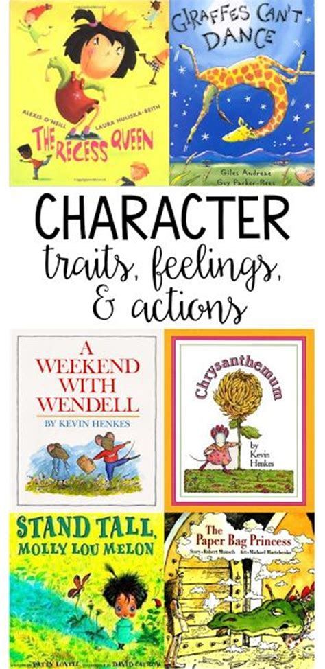 picture books character traits 25 best ideas about list of character traits on