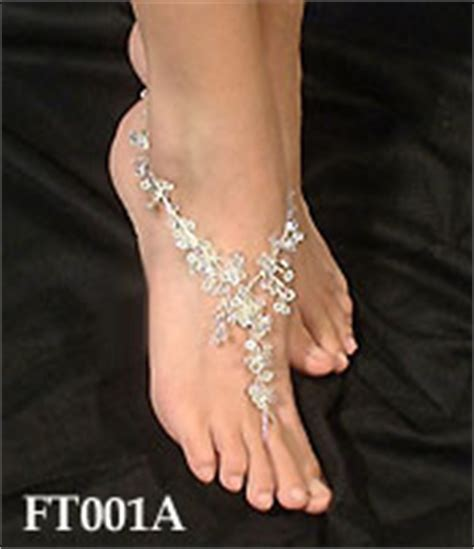 how to make foot jewelry with a disaster sense of style is going to ruin my wedding