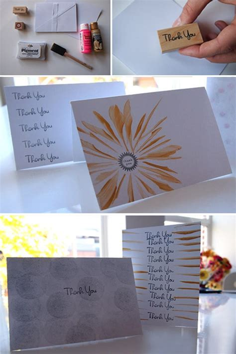 thank you cards can make diy thank you cards diy