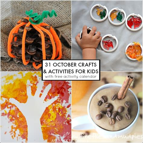 october crafts for 31 fall activities for free october