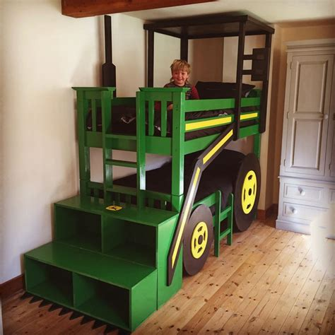 tractor bunk bed plans 25 best ideas about tractor bed on boys