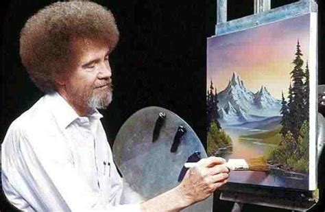 bob ross painters glove what are bob ross paintings worth a bob ross painting