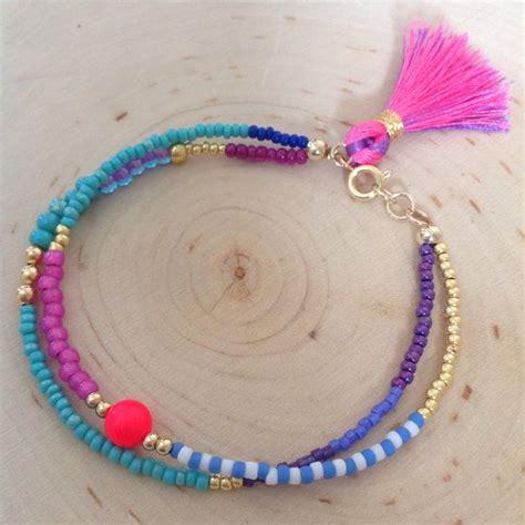 how to make seed bead bracelets 25 unique beaded friendship bracelets ideas on