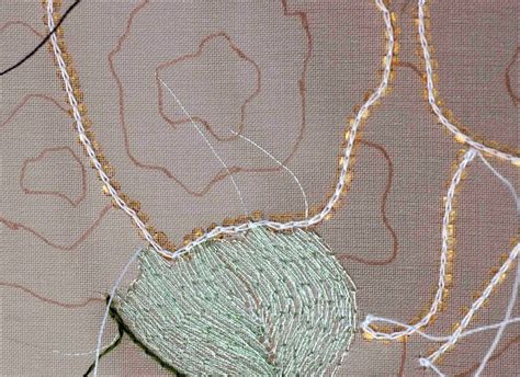 tambour beading plays with needles getting hooked tambour beading