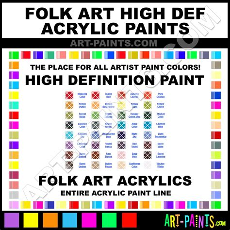 acrylic paint in definition and definition