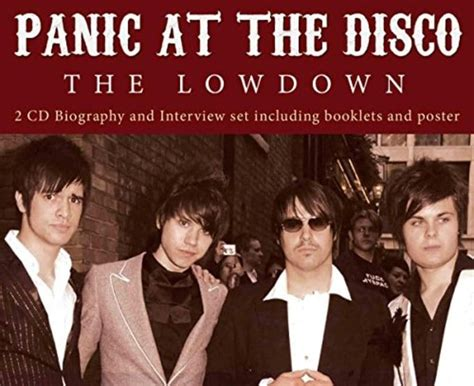 panic at the disco a picture with books panic at the disco the lowdown cd 2008