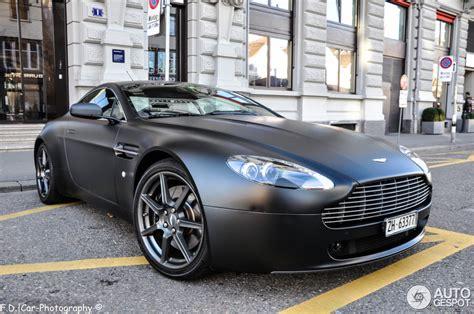 Matte Black Aston Martin by Matte Black Aston Martin Vantage Www Pixshark