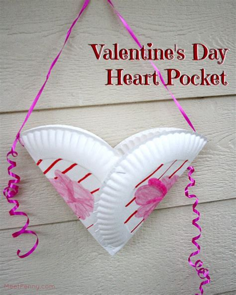 valentines day paper crafts pocket s day craft for meet