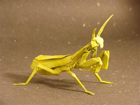 origami mantis paper animal farm origami animal creations pix o plenty