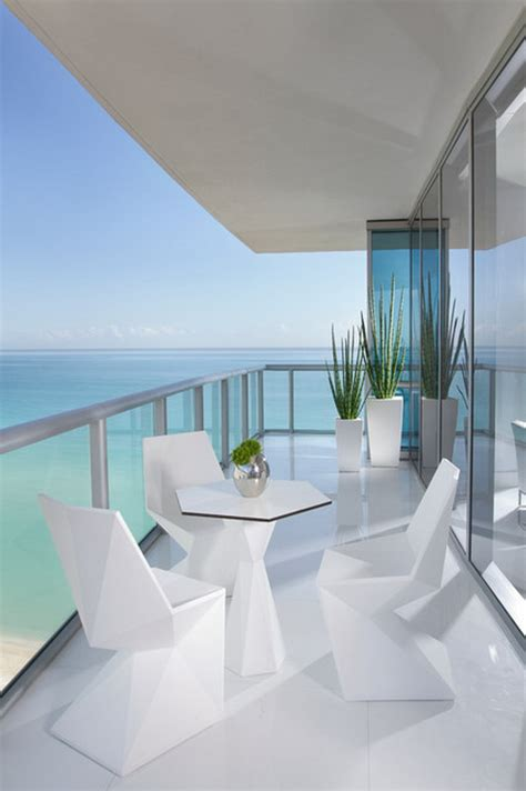 modern patio furniture miami custom modern white miami patio furniture in condo